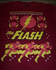 DC COMICS THE FLASH Justice League CHRISTMAS T-Shirt XL NEW