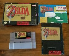 The Legend of Zelda: A Link to the Past (SNES 1992 ) - w/ Box Manual CIB