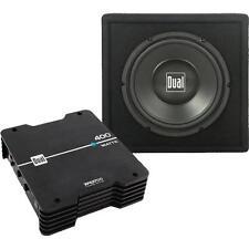 Dual SBP270 Amplifier Subwoofer Bundle With 400 Watt MOSFET Amplifier