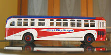 CORGI 54018 GMC TDH4503 O SCALE OLD LOOK TRANSIT BUS - CORGI CITY STAGES 2003