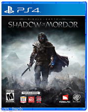 MIDDLE EARTH SHADOW OF MORDOR PS4 [PRE OWNED] GREAT CONDITION ( NO ART COVER )
