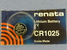 Renata  CR1025 Lithium 3V Swiss Made  Battery ,1Pc