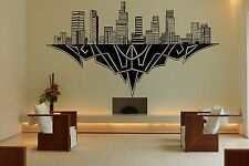 Wall Room Decor Art Vinyl Sticker Mural Decal City Skyline Los Angeles CA FI817
