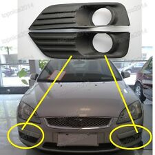 1Pair Front Bumper Fog Lamp Cover Bezels for Ford Focus 3Dr EU Style 2004 2005