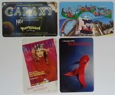 Telefonkarten aus Sammlung Set#5 Phantasialand Heide Park Madame Weltaidstag