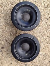 PAIR OF INFINITY SM 112 902-4315 MIDRANGE SPEAKERS FULLY TESTED SOUND SWEET