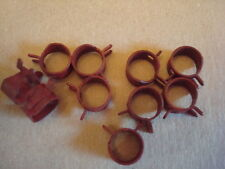 """10 Fuel Line Hose Clamps Clamp for 1/4"""" fuel line  FITS many lawnmowers engines"""