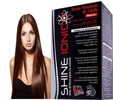 Hair Permanent Straightener System SHINE IONIC LM with Negative Ions Japanese
