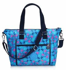 Kipling Designer Convertible Hand and shoulder Bag in Blue