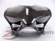 Ducati 899 1199 Panigale Racing Race Upper Front Nose Fairing 100% Carbon Fiber
