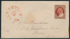 #10A ON COVER POS.2E10R RED CANCEL OLD CHURCH, VA DEC 30 CV $220 BT532