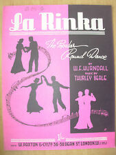 VINTAGE SHEET MUSIC - LA RINKA - THE POPULAR ROUND DANCE