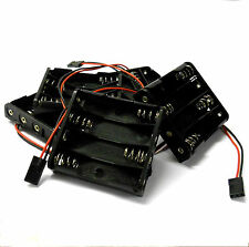 C1203-2x5 RC Battery Holder Case Box Pack 4 x AAA JR 3 Pin x 5
