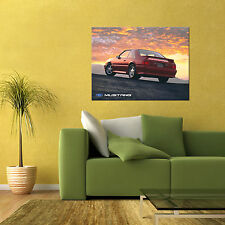 MUSTANG GT FOX BODY 5.0L SALEEN SPORTS CAR LARGE AUTOMOTIVE HD POSTER 24x36in