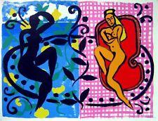 Stefan Szczesny Handsigniert Siebdruck Mustique 1999, Caribbean Dancers