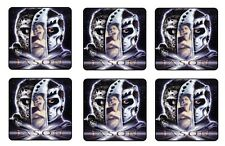 "JASON X COASTERS 1/4"" BAR & BEER SET OF 6"