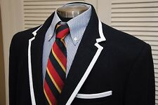 MEN'S THOM BROWNE JACKET BLAZER SPORT COAT XL TARGET NEIMAN MARCUS SURGEON CUFFS