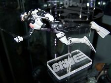 "Acrylic display stand for GI Joe 3.75"" scuba diver figures Torpedo Wetsuit"