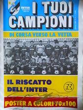 I TUOI CAMPIONI - Poster INTER 1983-84 dim. 70x100    [GS50]