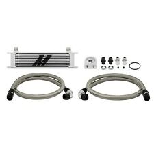 Mishimoto Universal Engine Oil Cooler Kit 10-row MMOC-U Silver