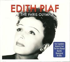 EDITH PIAF AT THE PARIS OLYMPIA - 2 CD BOX SET