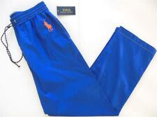 Polo Ralph Lauren NWT Men XL BIG Pony Sleepwear PJ Lounge Pant Bottom Cotton Blu