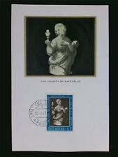 VATICAN MK 1962 PAINTING RAFFAELO GEMÄLDE MAXIMUMKARTE MAXIMUM CARD MC CM c6346