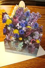 MOTHER'S DAY: May your Mothers Day * Multi-Color Photo Flower, Vase  New  * c43