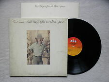 "LP PAUL SIMON ""Still crazy after all these years"" CBS 86001 HOLLAND §"