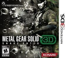NINTENDO 3DS DS GAME METAL GEAR SOLID SNAKE EATER 3D BRAND NEW & SEALED