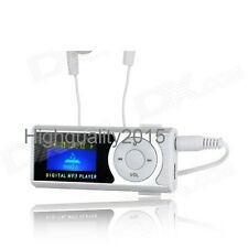 Digital MP3 Player with LED Display, Inbuilt Speaker, TF/MicroSD Slot, LED Torch