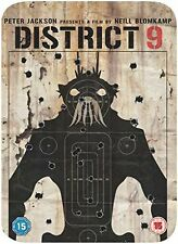 DISTRICT 9 LIMITED EDITION TIN CASE STEELBOOK Brand New and Sealed