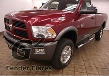 FITS DODGE RAM 2500 HD 10-14 W/O FACTORY FLARES G2 FENDER FLARES 4PCS PAINTED