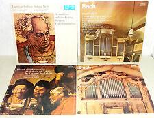 Konvolut DDR 4 LP`s Vinyl Eterna Edition Klassische Musik Bach Beethoven Händel