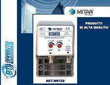 AMPLIFICATORE DA PALO MITAN DOPPIA BANDA III E UHF 24dB 110dBuV CODICE MK 122