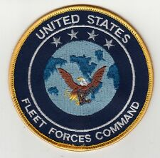 UNITED STATES FLEET FORCES COMMAND CHEST PATCH