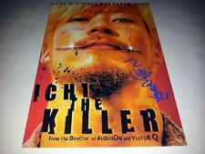 "ICHI THE KILLER PP SIGNED 12""X8"" POSTER TAKASHI MIIKE"