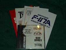 Land, Sea, Air and The World- F-117A, Civilization ++ (Microprose, PC)