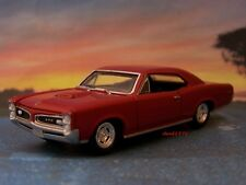 66 1966 PONTIAC GTO 1/64 SCALE DIECAST MODEL COLLECTIBLE - DIORAMA