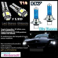 ALFA ROMEO MITO SET LAMPADE H7 BLU XENON ANABBAGLIANTE 55W + T10 POSIZIONE 5 LED