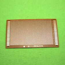 5Pcs 9 x 15 cm DIY Prototype Paper PCB fr4 Universal Board NEW