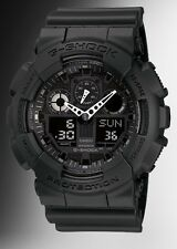 Casio G Shock *GA100-1A1 Anadigi XL Stealth Matte Black Dark Knight COD PayPal