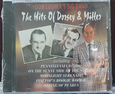 Don Lushers BIG BAND Hits of Tommy Dorsey Glenn Miller Cd 15 Tracks Ronco Silver