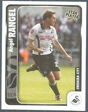 PANINI CHAMPIONSHIP 2010- #349-SWANSEA CITY-ANGEL RANGEL IN ACTION-STAR PLAYER