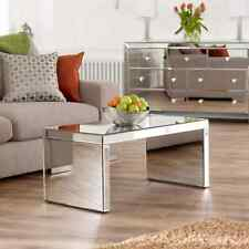 Venetian Mirrored Glass Coffee Table or TV Unit Stand - Living Furniture - TFM2