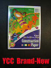 Mead Construction paper 96 sheets, 9 x 12 in (22.8 x 30.4 cm)
