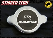 MAZDA SPEED CHROME RADIATOR CAP STICKER DECAL SUITS MX5 R100 RX7 12A 13B ROTARY