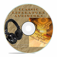 THE ANTI-FEDERALIST PAPERS, PATRICK HENRY, MP3 CLASSIC AUDIOBOOK LITERATURE-A21