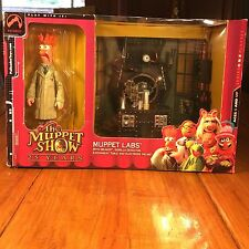2002 PALISADES THE MUPPET SHOW 25 YEARS BEAKER FIGURE MUPPET LABS DIORAMA D49