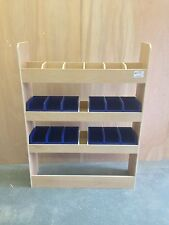 Ford Transit Custom Van Racking Ply Shelving SWB BINRACK Storage Accessories